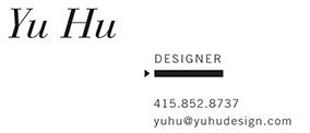 Yu Hu Design